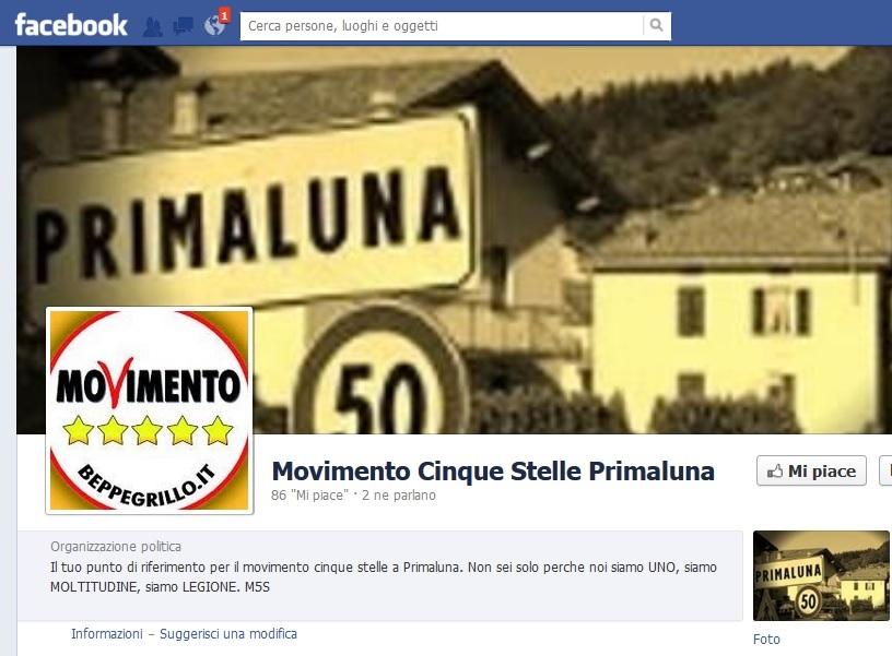 I GRILLINI SBARCANO NEI COMUNI IN VALLE<BR>ECCO ''PRIMALUNA A 5 STELLE 2014''