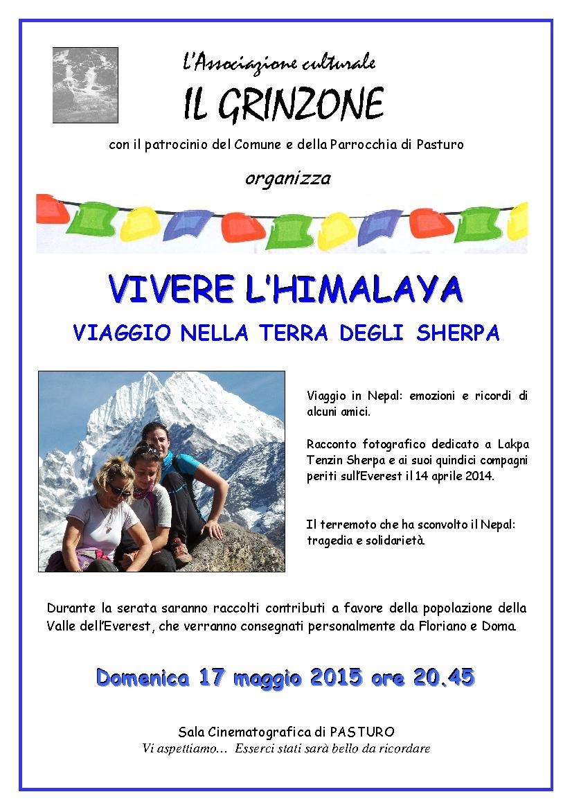 La Terra Degli Sherpa.Pasturo Domenica Sera Rivive Il Nepal E La Terra Degli Sherpa