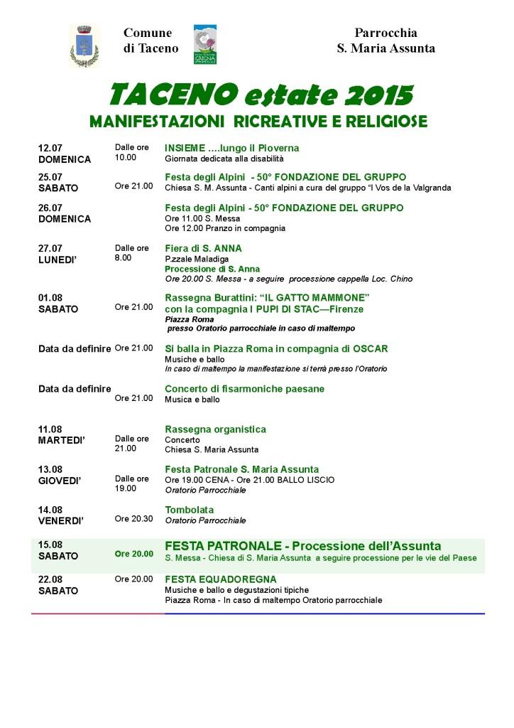 taceno locandinaManifestazioni2015-01