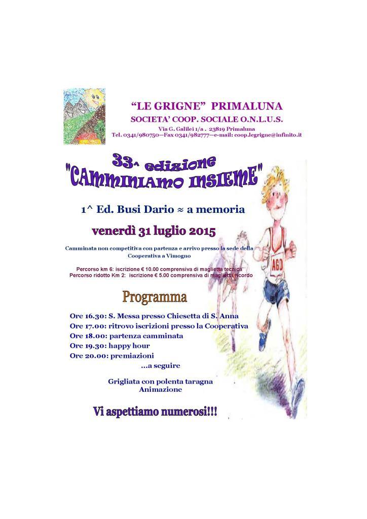 CAMMINIAMO INSIEME - 31 LUGLIO-001