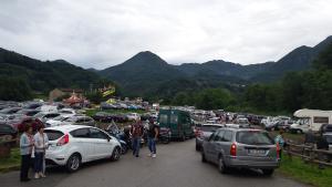 sagra traffico auto parcheggi 1