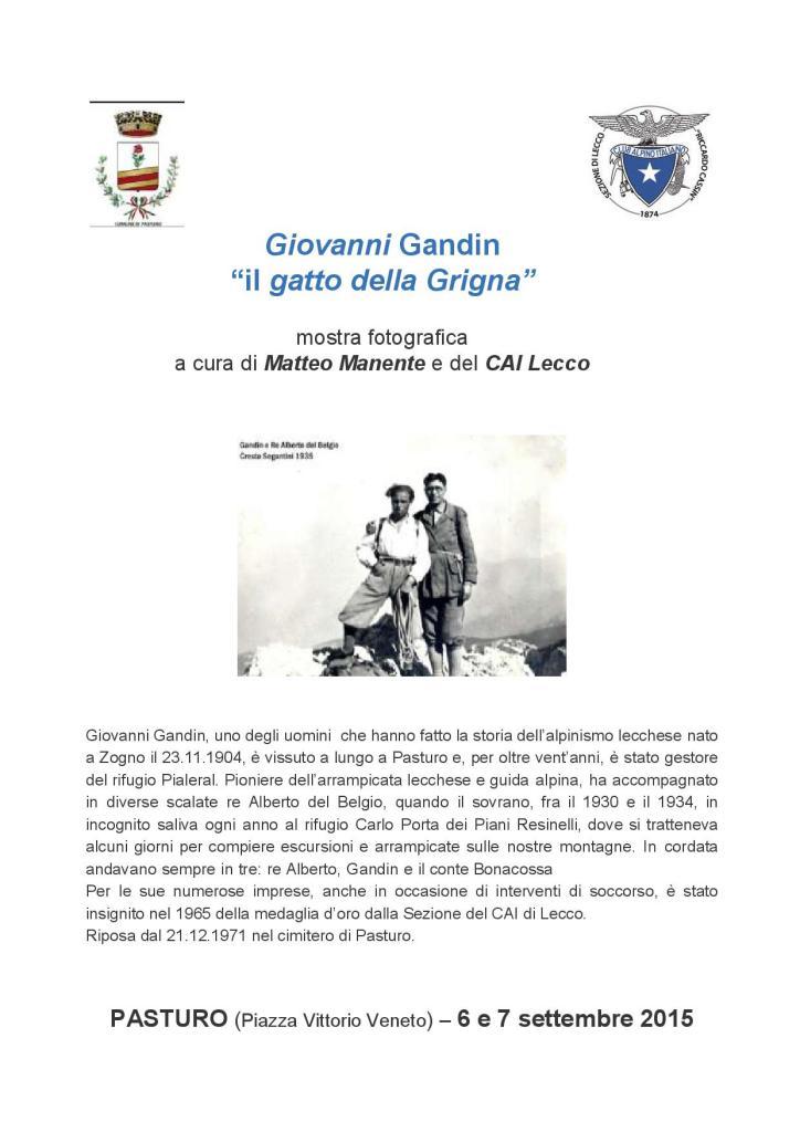 Giovanni Gandin il gatto della Grigna-001