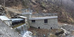 centrale idroelettrica vaniga