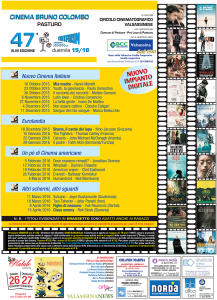 locandina cineforum pasturo 2015/16