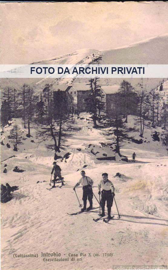 1 Introbio inizi 1900 - Esercitazioni di sci