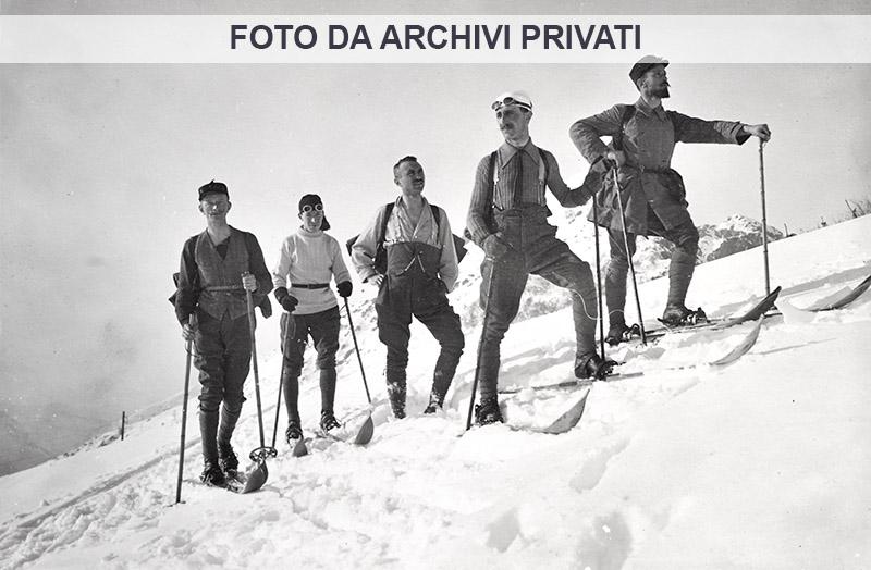 2 Grignone primi decenni del 1900 - gruppo con Eugenio Fasana