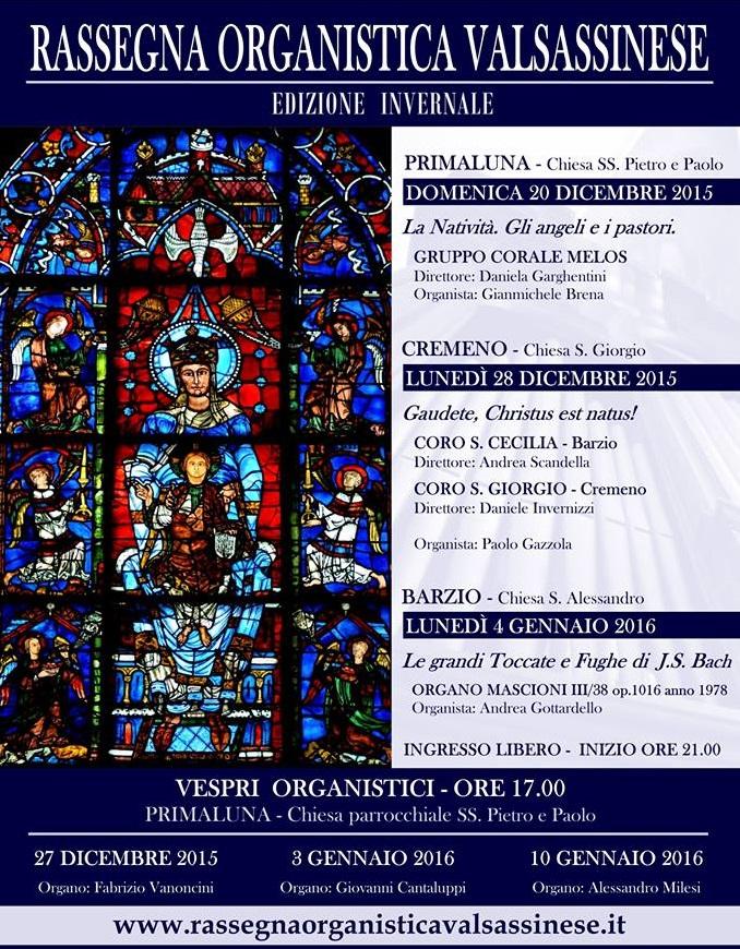 rassegna organistica invernale