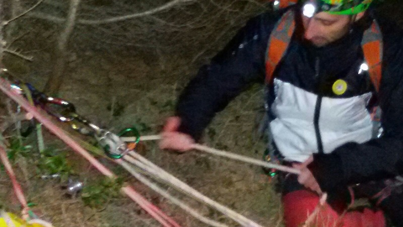 soccorso alpino CNSAS griera legnone 1