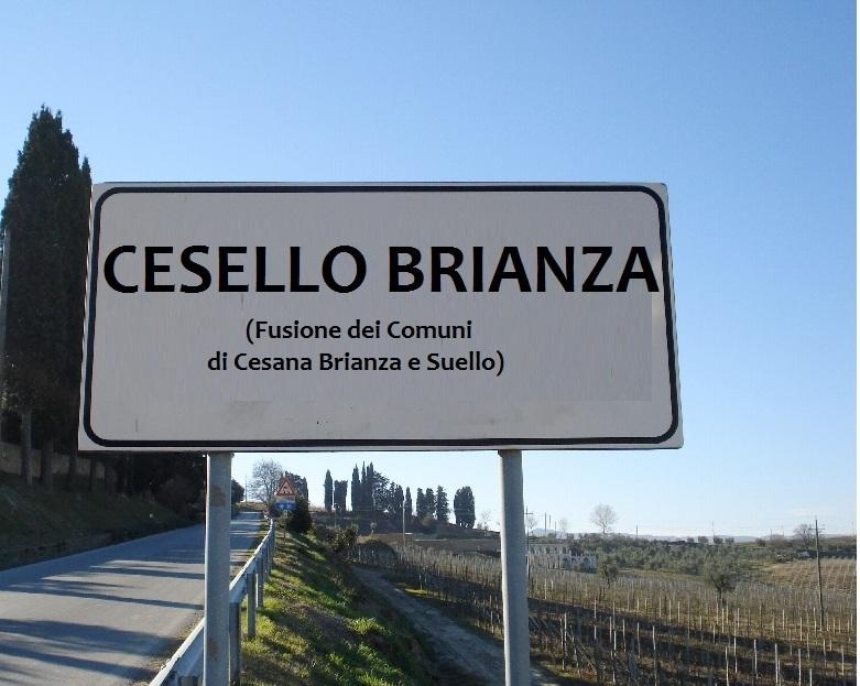 Cesello Brianza cartello