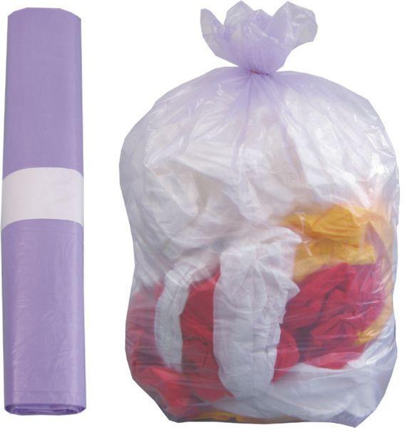 sacco viola rifiuti