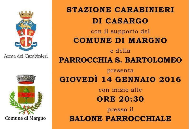 truffe carabinieri margno