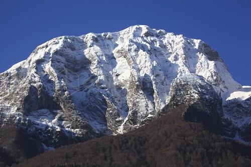 Il Pizzo della Pieve e la parete Fasana, Grigna Settentrionale, Valsassina, Lombardia