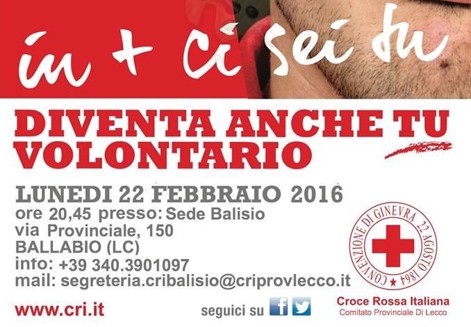 croce rossa corso volontari