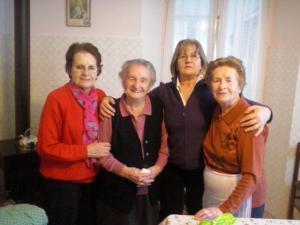 nonna martina galperti e figlie