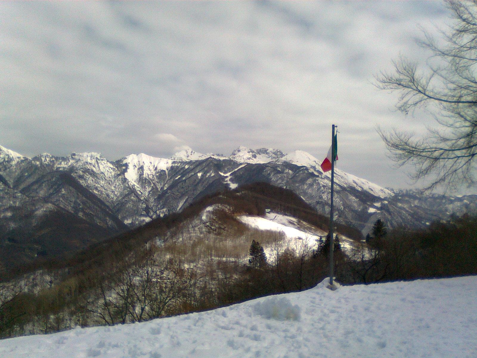Piani di Bobbio dal Riva