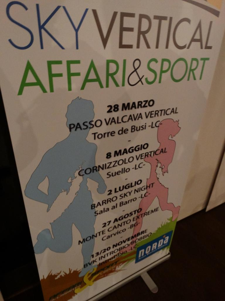 sky vertical affari e sport calendario