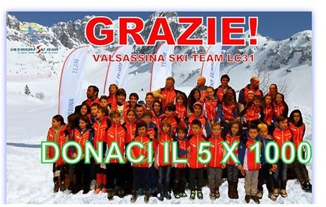 5 PER MILLE VALSASSINA SKI TEAM