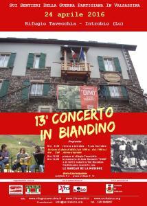 BIANDINO CONCERTO 24 APRILE
