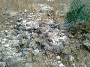 Rovine rocca cinque