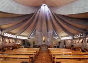 TERREMOTO Interno chiesa