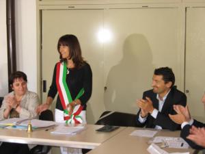 invernizzi antonella fascia sindaco 2010
