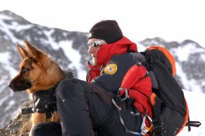 soccorso cane e conduttore