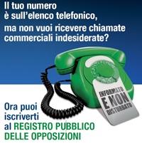 telefonate registro opposizioni