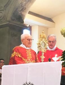 PADRE ANGELO GIANOLA 70MO SACERDOZIO PREMANA
