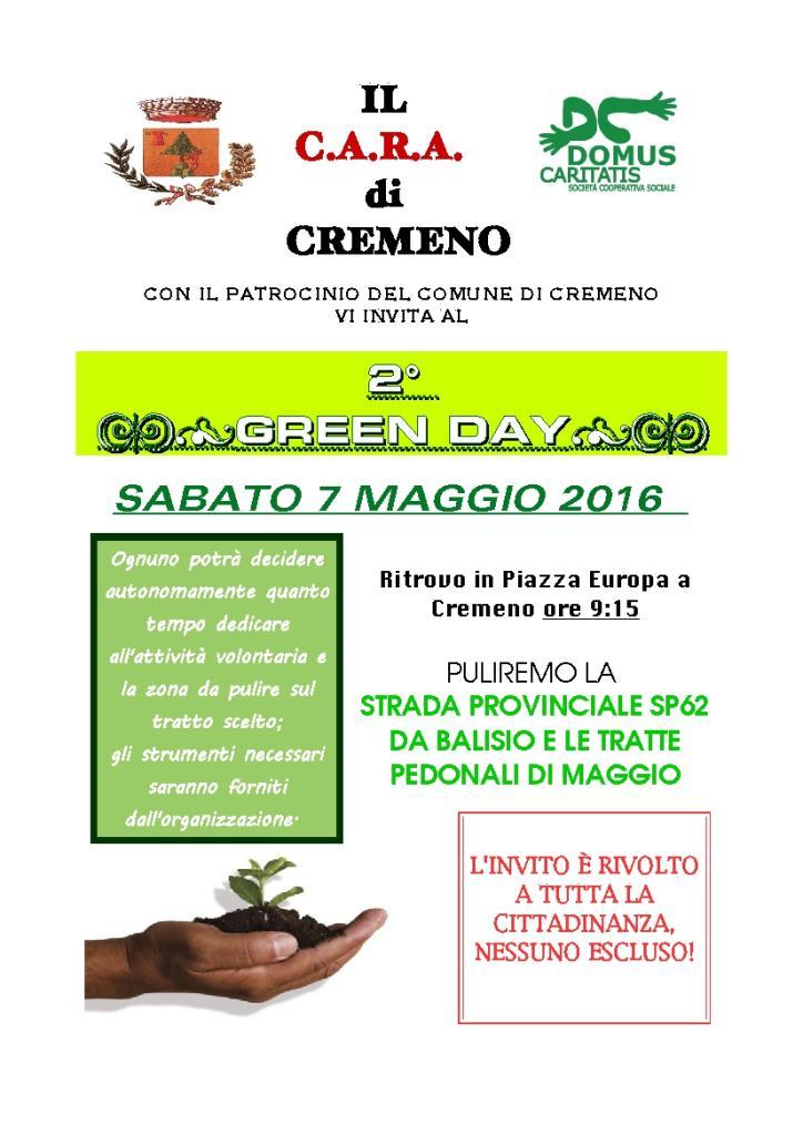 VOLANTINO 2 GIORNATA GREEN DAY-01