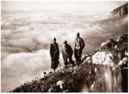 alpinismo pionieristico camozzini