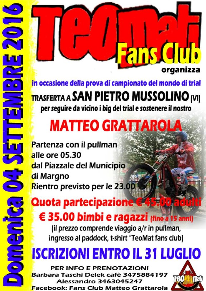 GRATTAROLA FANS CLUB A VICENZA