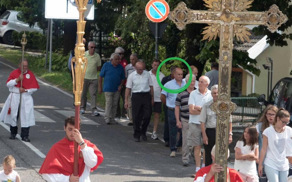 carsana processione