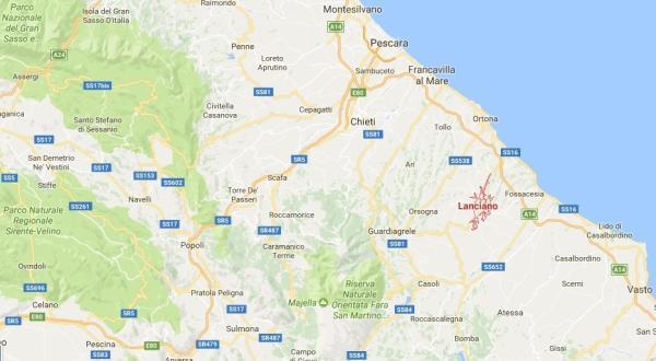 LANCIANO MAPPA
