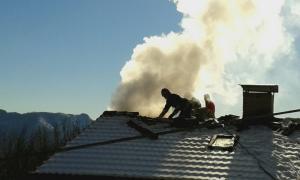 incendio ballabio tetto