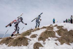 scialpinistica pizzo tre signori 2017