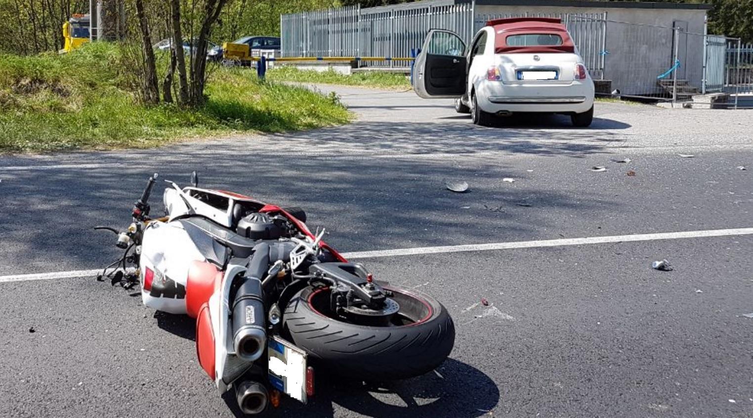 Tragico incidente a Taceno: morto un motociclista