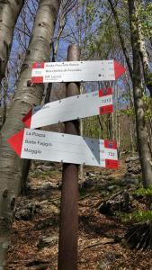 protezione civile moggio sentieri cartelli