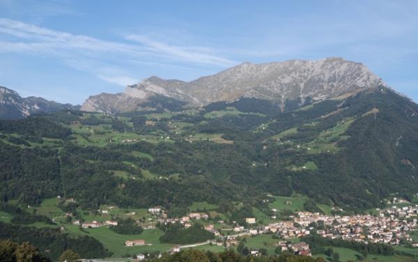 Il Grignone nel versante di Pasturo - Grignone in the slope of Pasturo