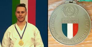 daniele invernizzi bronzo nazionali karate ORIZ1