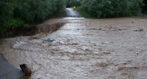 pioverna in piena - temporale maltempo 1