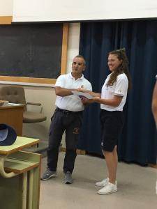 Gilda Maria Furiosi Consegna del diploma