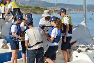 Gilda Maria Furiosi Lezione pratica in barca a vela