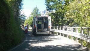 incidente ciclista morterone