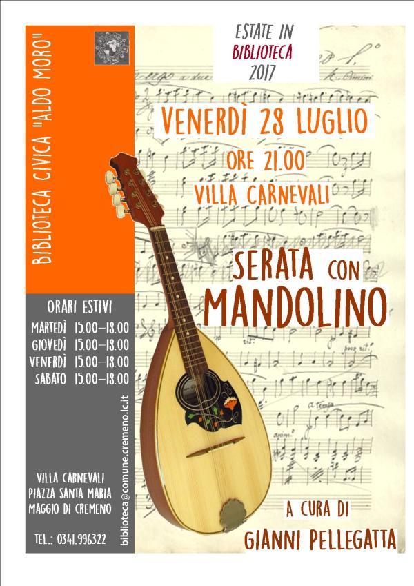 mandolino maggio pellegatta
