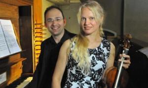 rassegna organistica Lina Uinskyte Marco Ruggeri