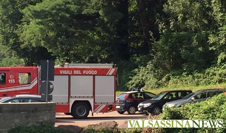 Cortenova, crolla scala in Villa de Vecchi: 17enne in ospedale