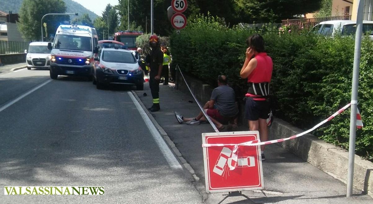 incidente ballabio ambulanza pompieri