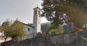 crandola vegno chiesa campanile