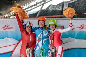 sci d'erba Kaprun Antonella Manzoni podio superg