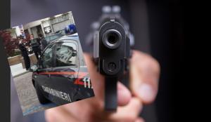 sparatoria barzio pistola